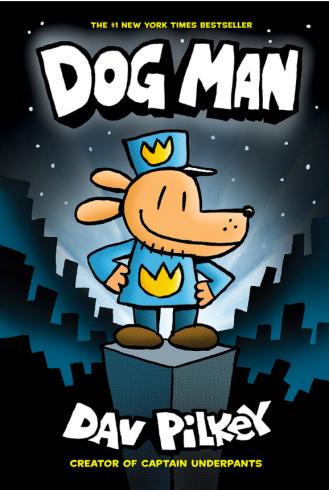 Dog man books read aloud
