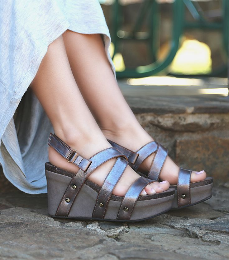 4cd843945c70 These strappy platform wedges are the ultimate OTBT shoes for spring! Check  out the stylish SAIL