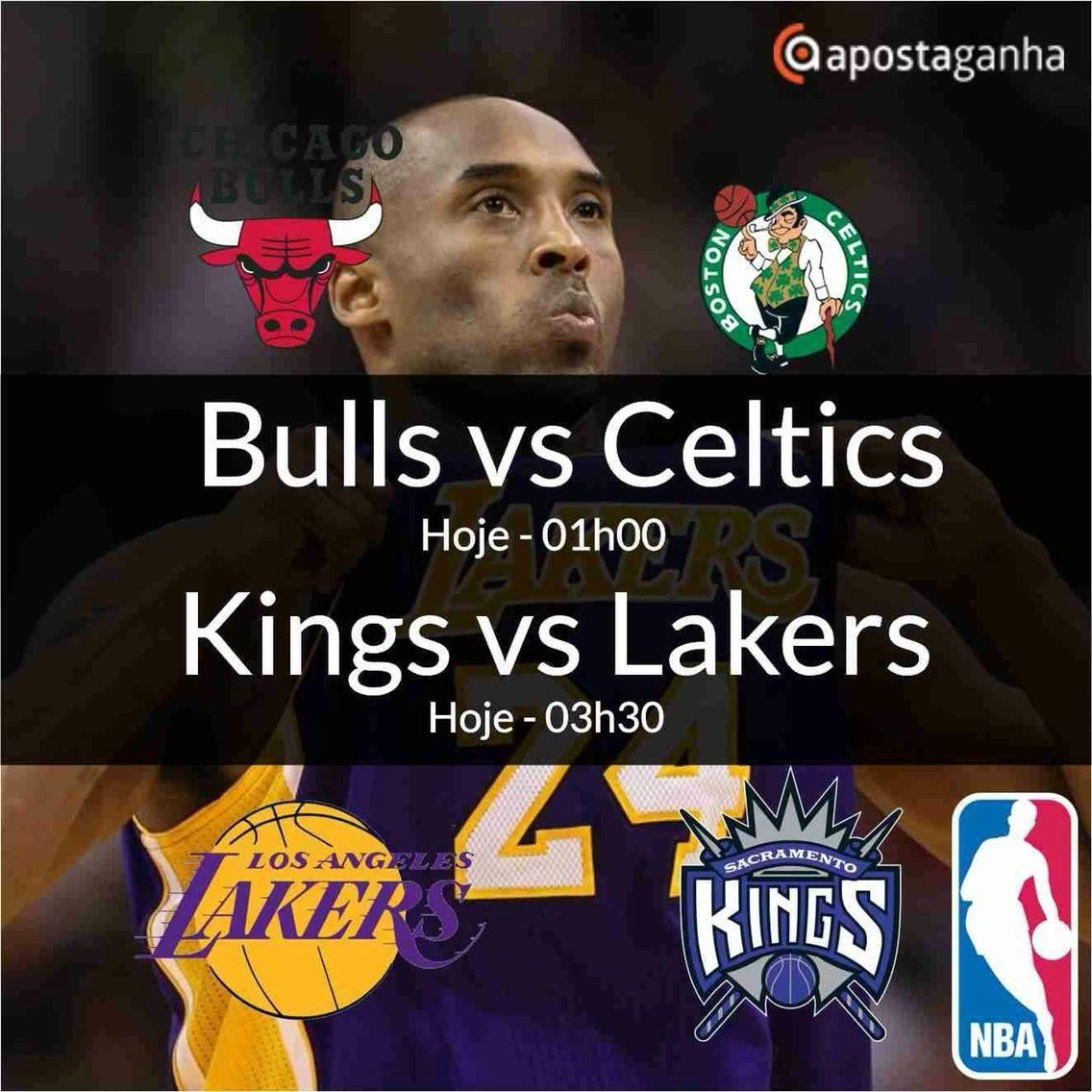 Fechando o dia desportivo no Apostaganha, chegamos com o basket da NBA... Confiram o que separamos para vocês....  http://www.apostaganha.com/2016/01/07/prognostico-apostas-bulls-vs-celtics-nba-112/  http://www.apostaganha.com/2016/01/07/prognostico-apostas-kings-vs-lakers-nba-1111/  Já conheces a Betboro? Uma casa de apostas confiável com inúmeras opções de apostas e um bônus inicial de até 100 Euros... Aproveite...  http://bit.ly/promo-betboro  #apostas #apostaganha #apostasonline #nba…