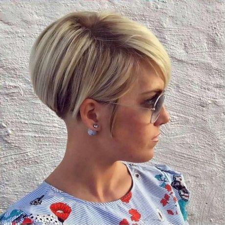 Moderne Kurzhaarfrisuren 2018 Damen Frisur Short Hair Styles