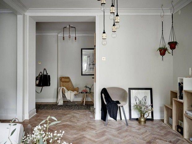 Compact appartement met een gezellig scandinavisch interieur