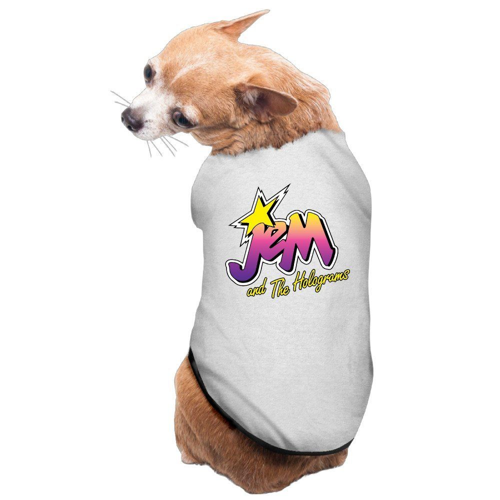 Dog Clothing Pet Supplies Hoodies Jem And The Holograms Logo