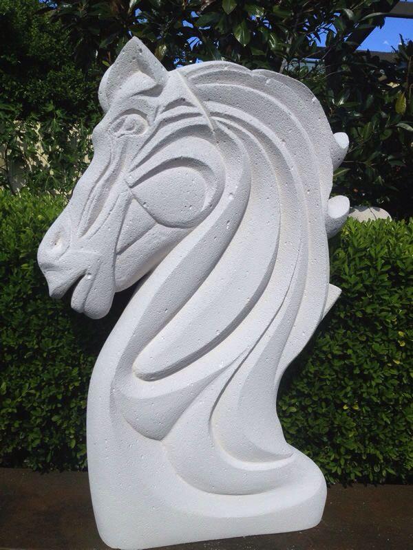horse head hebel sculpture druge tehnike pinterest. Black Bedroom Furniture Sets. Home Design Ideas