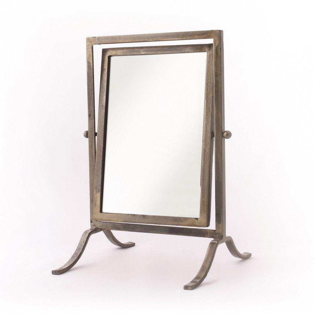 Decorative Traces   Tabletop Mirror