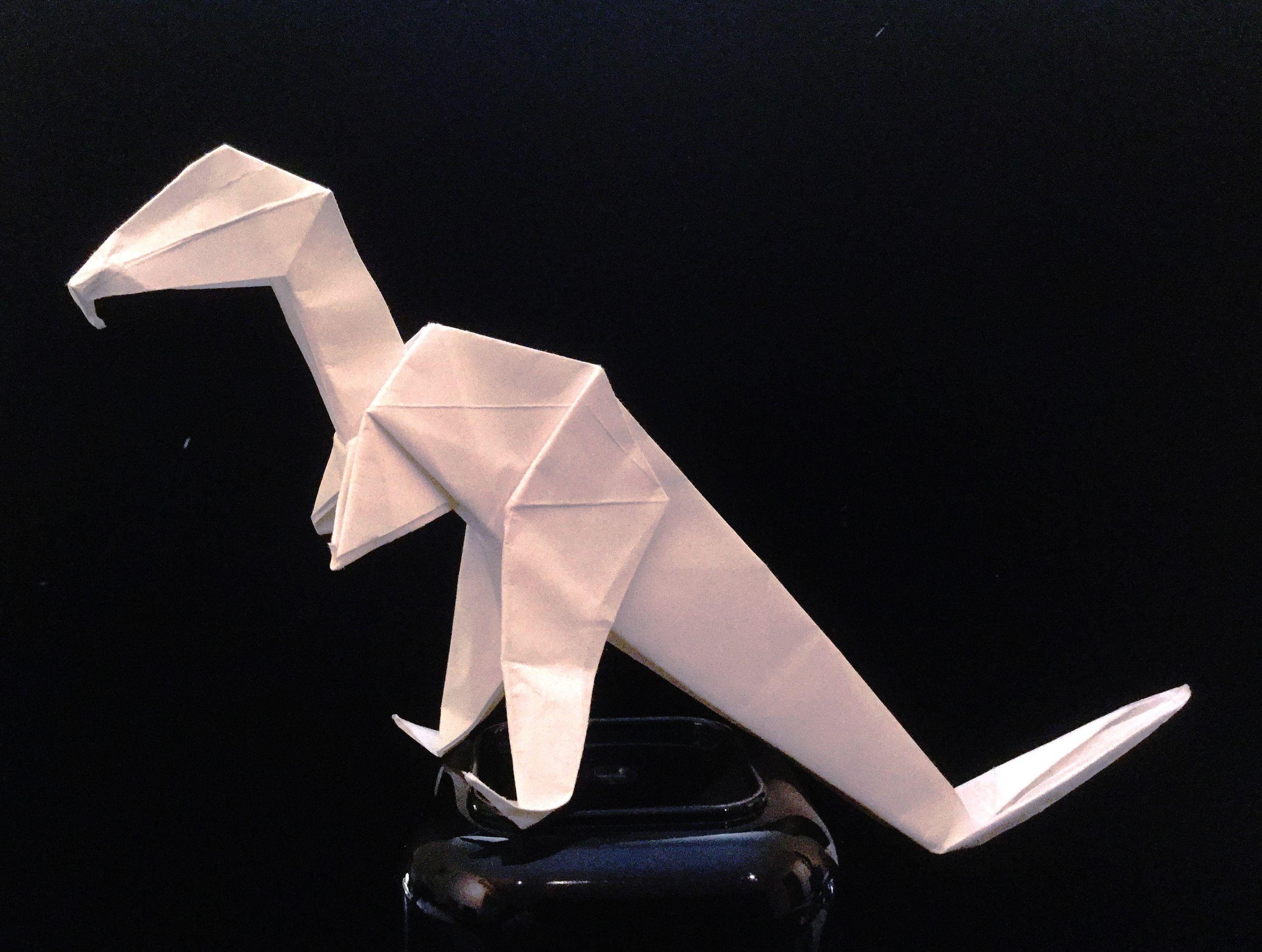 Dinosaurio origami pinterest origami origami jeuxipadfo Image collections
