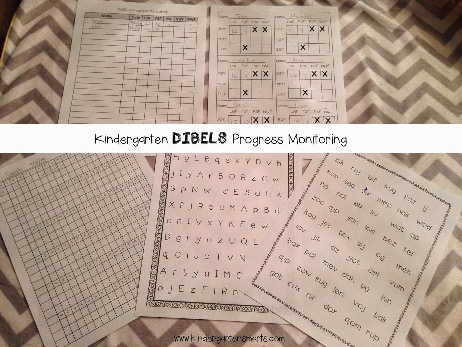 Super Silly Nonsense Words Nwf Practice Pages For Dibels Next