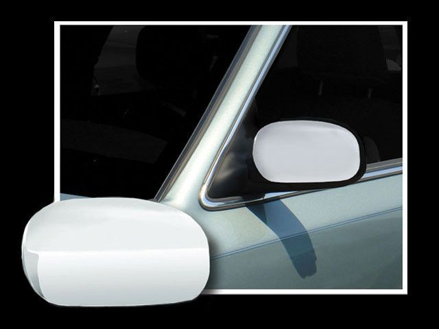MC43680 2 Pc: ABS Plastic Mirror Cover Set, 4-door QAA FITS TOWN CAR 2003-2011 LINCOLN