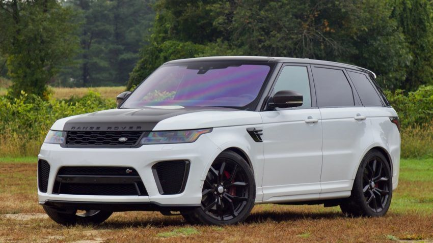 The 2019 Range Rover Sport SVR packs performance into a