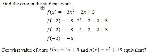 Evaluating Functions Worksheet And Answer Key Free Pdf On