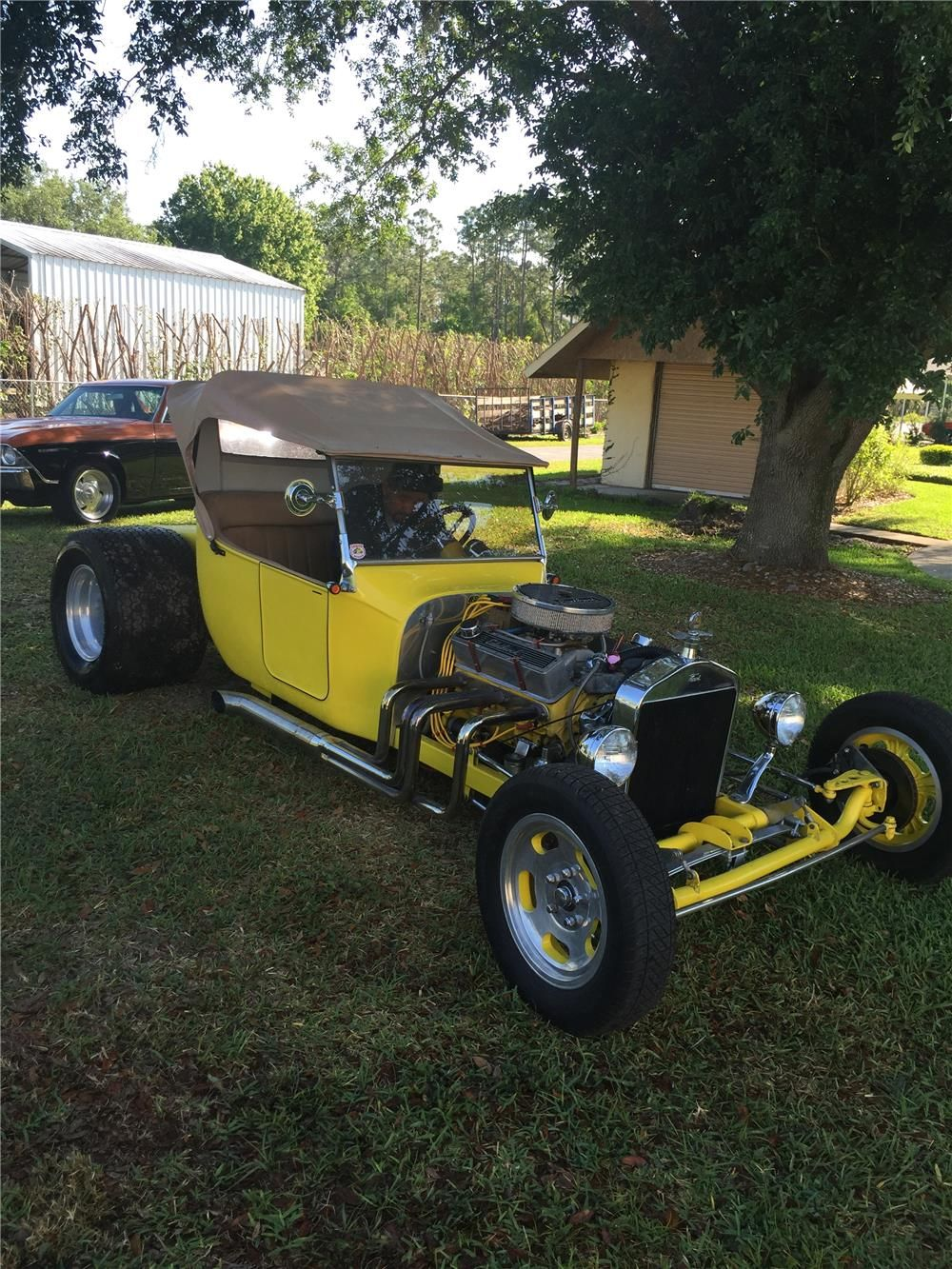 1923 Ford T Bucket Custom Roadster Barrett Jackson Auction