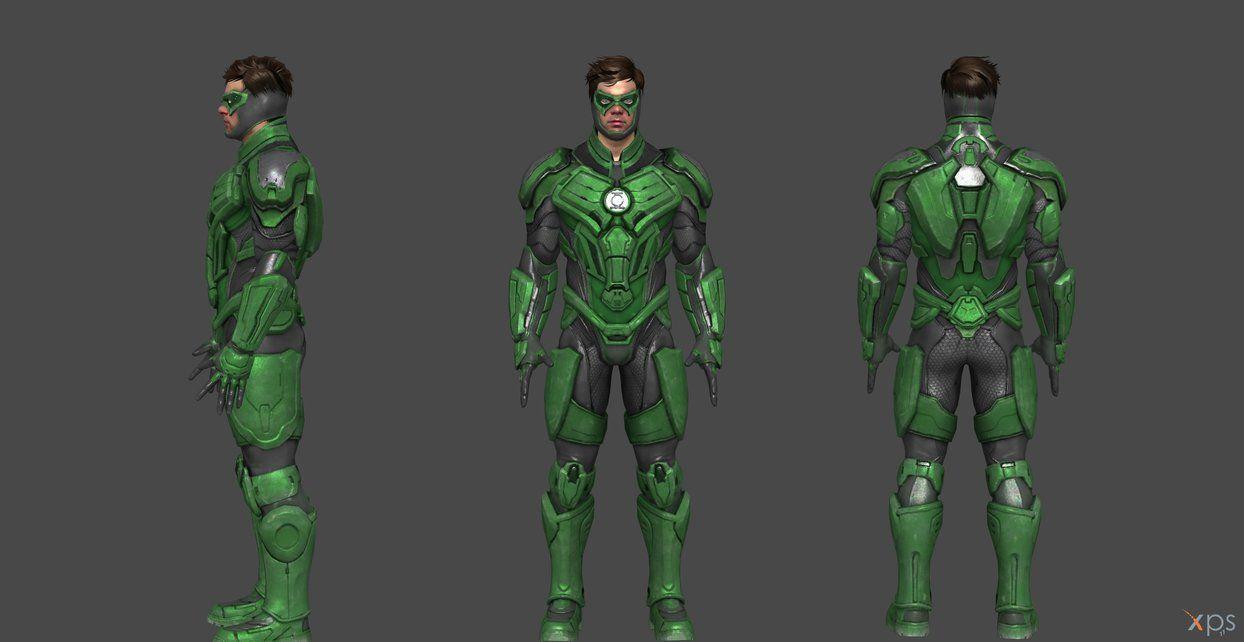 Green Lantern Injustice 2 By Ssingh511 Green Lantern Green Lantern Characters Green Lantern Corps