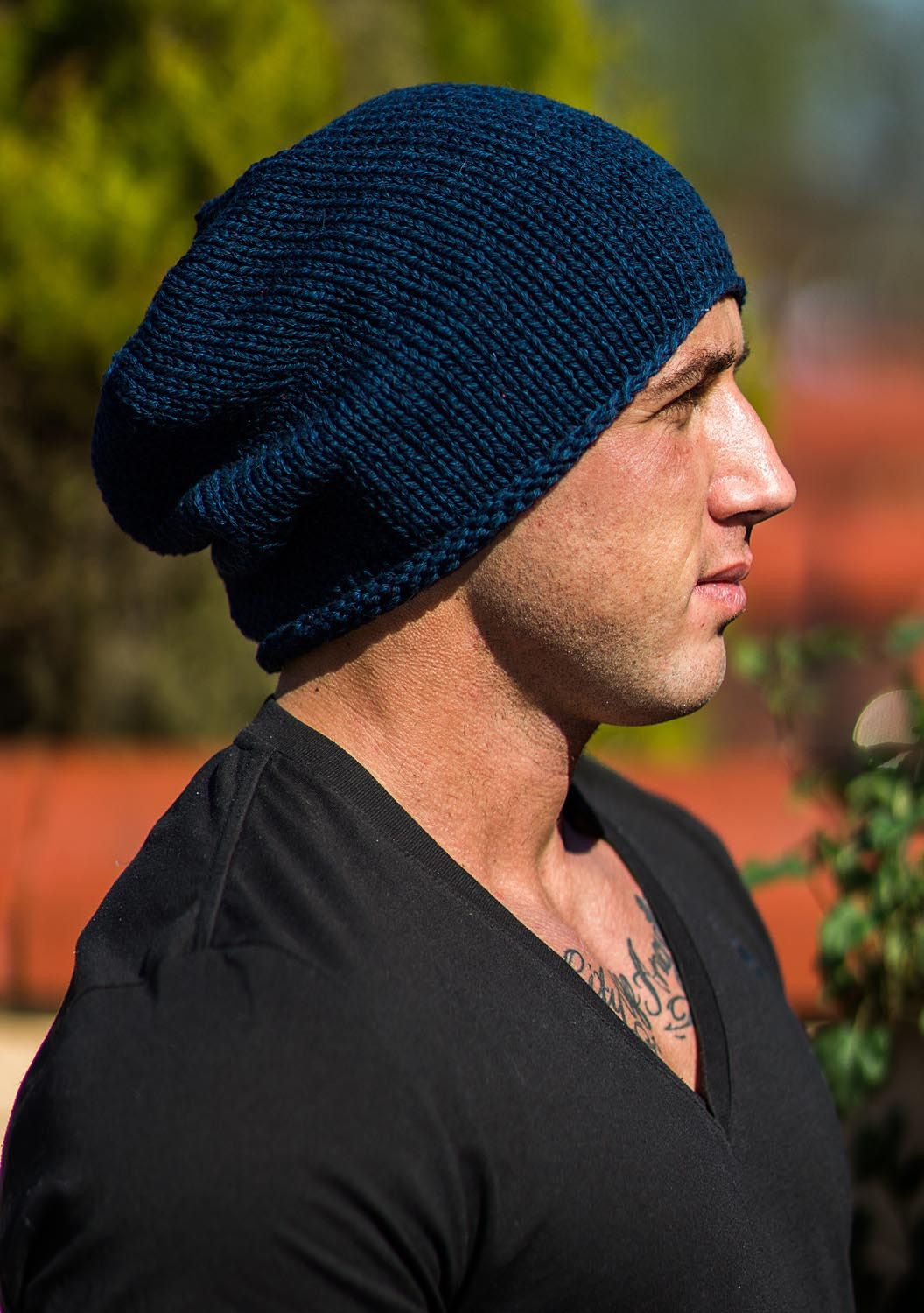 Pin by ReginaKnits on Men s Knitted Hat s  04457519e9ab