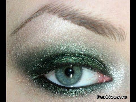 مكياج دخانى أخضر طريقة عمل مكياج باللون الأخضر مكياج سموكي اخضر Youtube Beauty Photo