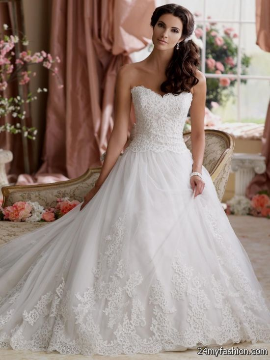 Nice wedding gown 2018-2019 Check more at http://myclothestrend.com ...