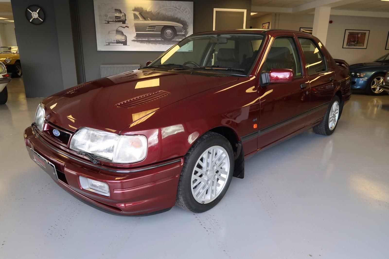 This ford sierra sapphire 2.0 rs cosworth 4x4 13,000 miles one owner is on  eBay.