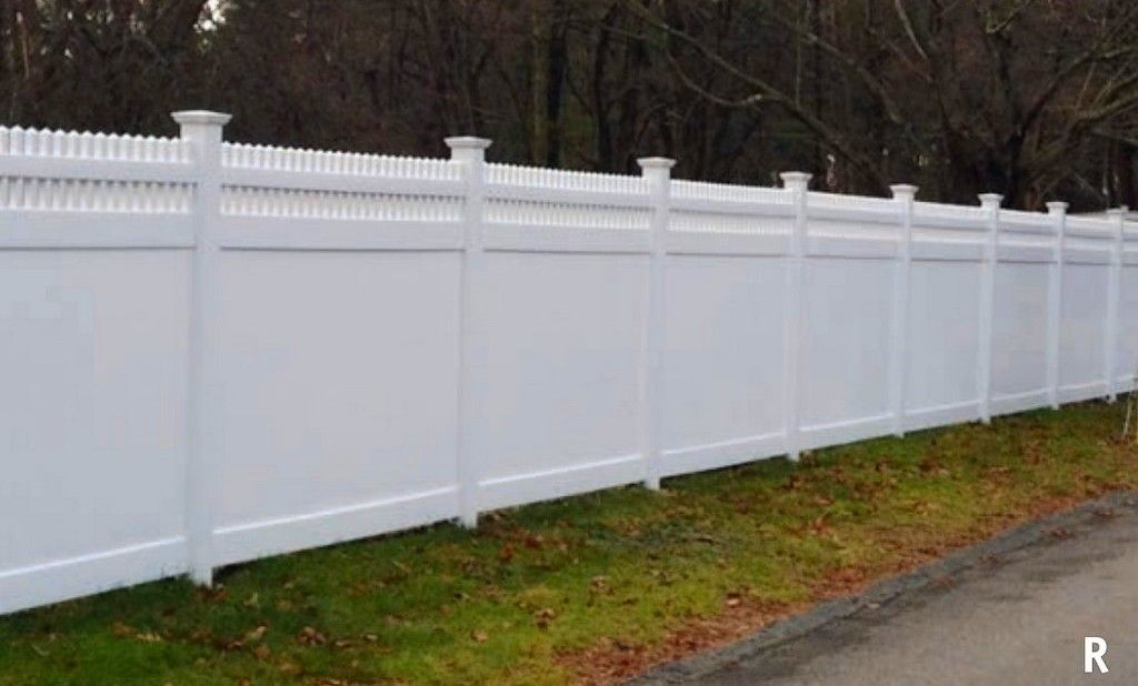 Arrow Fence Vinyl Fences Pvc Marlborough Ma R Style