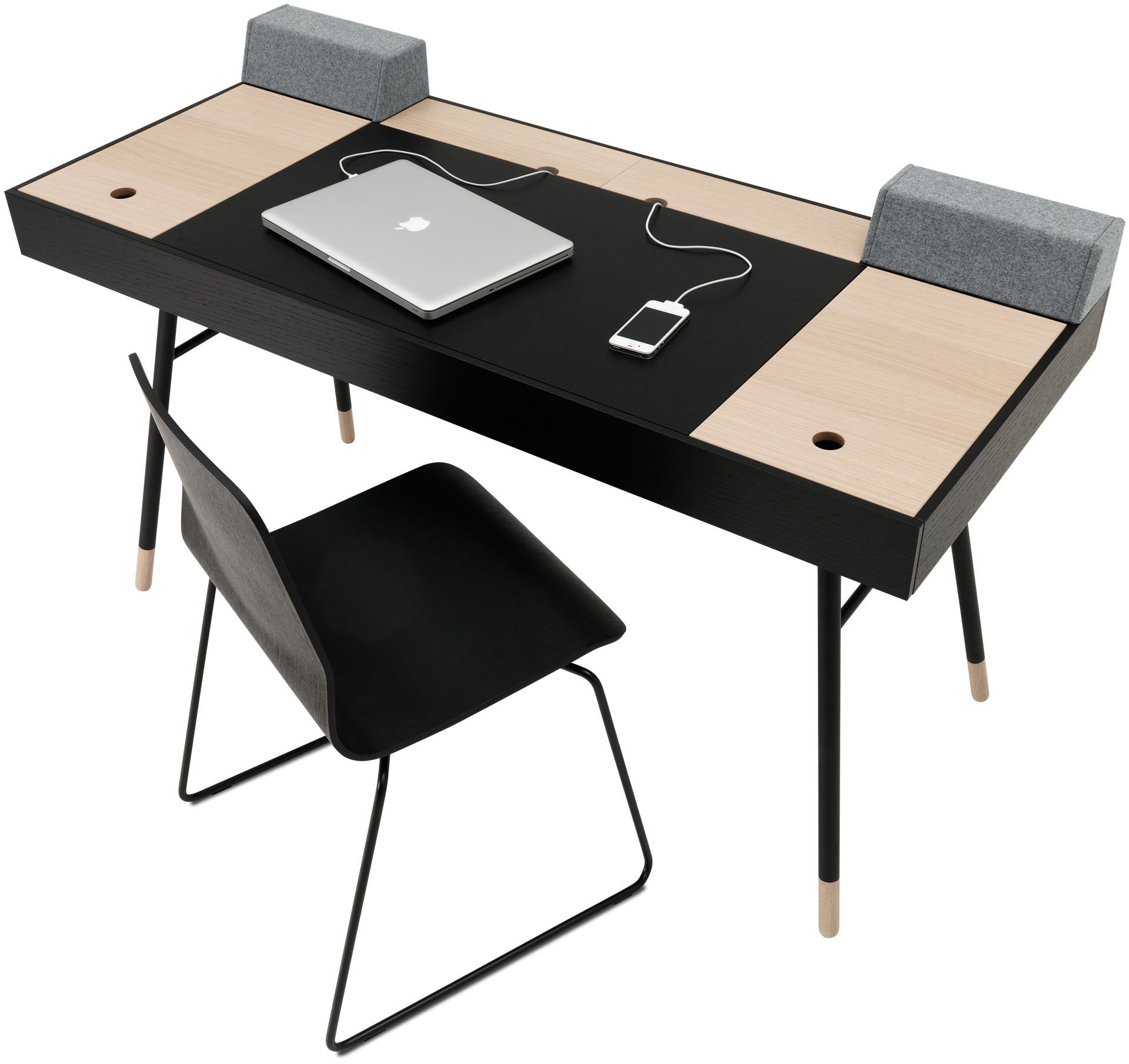Hjemmekontor skriveborde og stole i flot design office desk furniture furniture design - Bureau multimedia design ...
