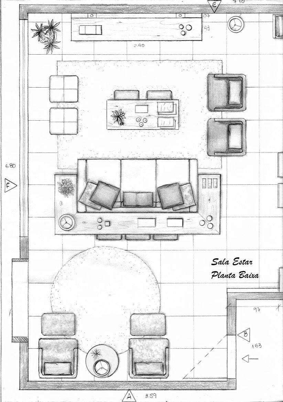 sala estar planta baixa ideias para a casa pinterest