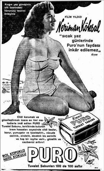 Türkiye'nin en güzel kadınları sabun reklamında – Gürül Öğüt – Hürr…