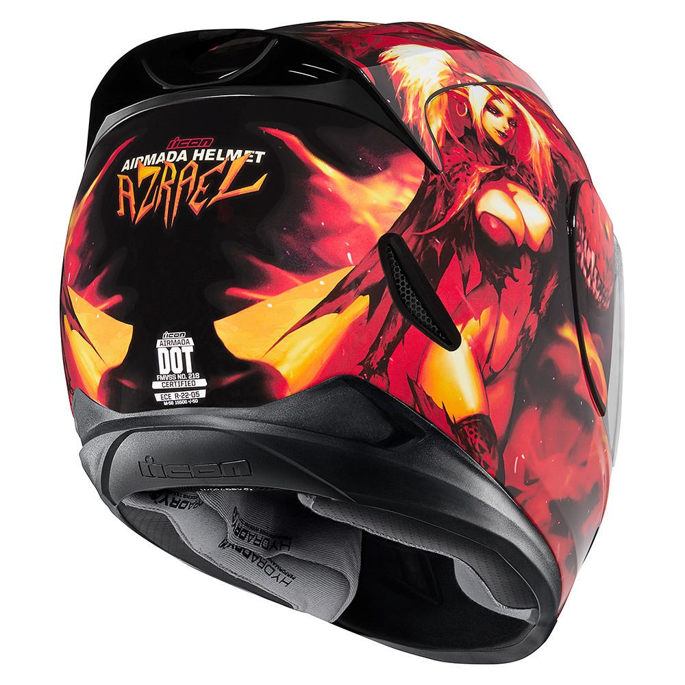 Azrael Red Helmets Icon Motosports Ride Among Us【2020】