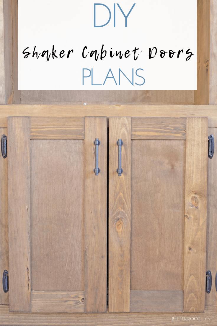 Easy Shaker Cabinet Doors Diy Doors Room Dividers