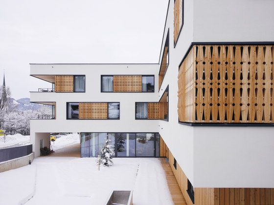 Retirement and nursing home wilder kaiser by srap sedlak rissland durschinger architekten kindergartens day nurseries also residential building rh pinterest