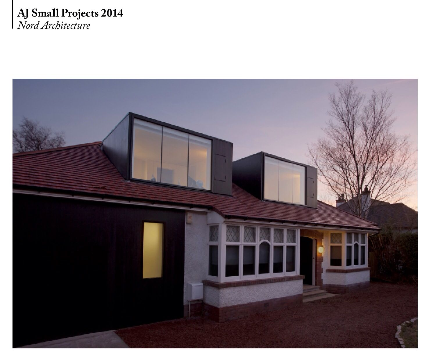 Aj Small Project Nord Architects Rooves Pinterest