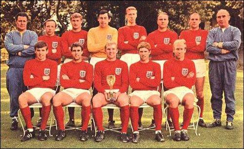 Inglaterra Campeon del Mundo 1966 en su propio país.