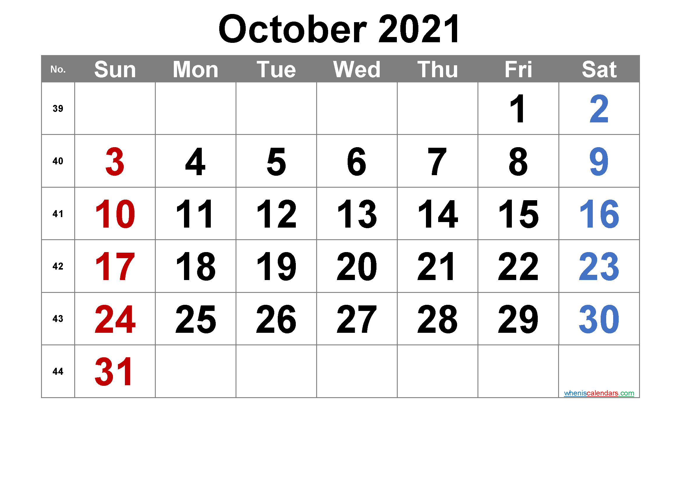 Printable October 2021 Calendar Free Premium In 2020 Calendar Printables Printable Calendar July Printable Calendar