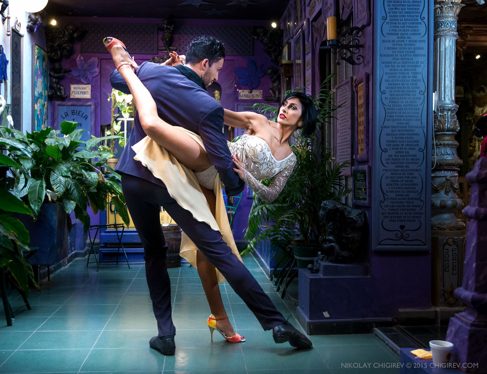 Chigirev Portrait Photography | Argentine Tango. Marcos Ayala and ...