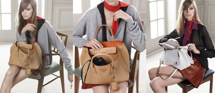 Prada recently announced the release of their newest bag called the Prada 'Double' bag. To commemorate the new bag they brand has released a new that features the craftsmanship in making this new bag style. http://www.salebagswallets.com/replica-handbags.html