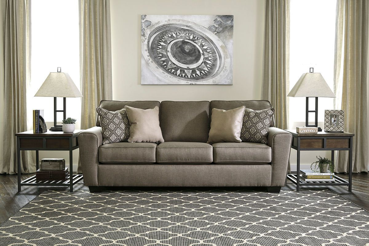 Ashley Calicho Cashmere Sofa Couch Beautiful Rooms Sofa