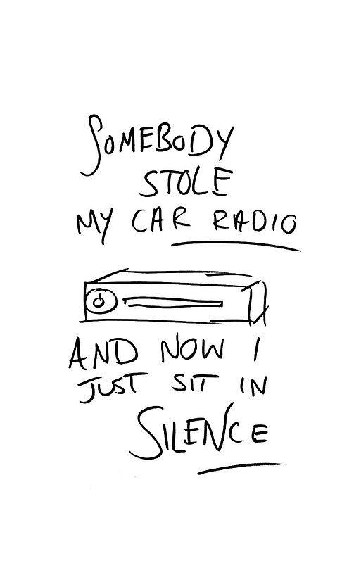 Car Radio Art