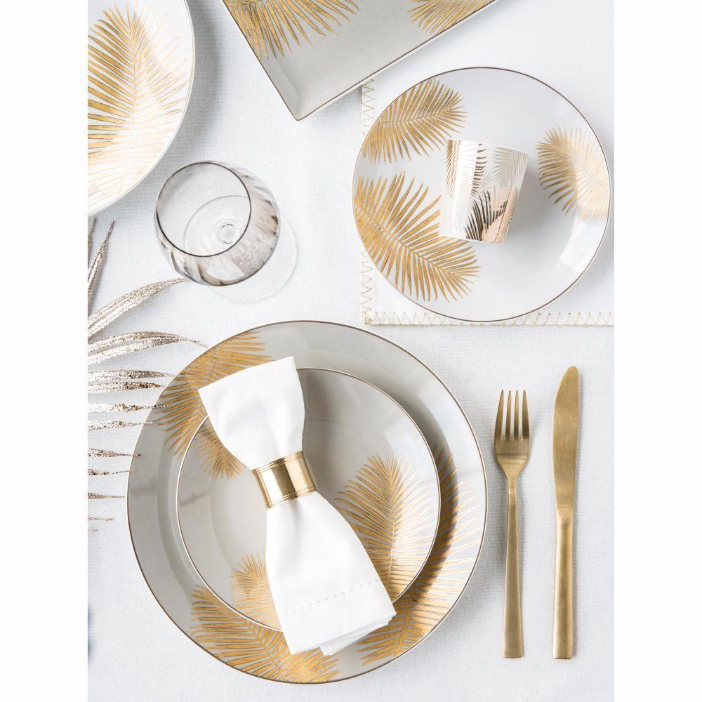 Vaisselle Vaisselle Maison Du Monde Plate Couverts Dores