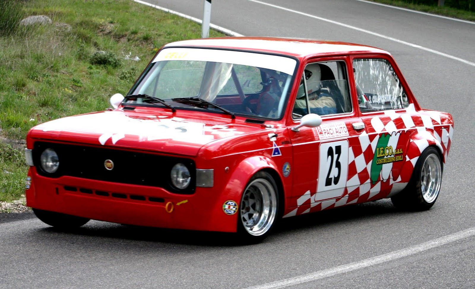 fiat 128 race car classic cars pinterest fiat 128 fiat and cars. Black Bedroom Furniture Sets. Home Design Ideas