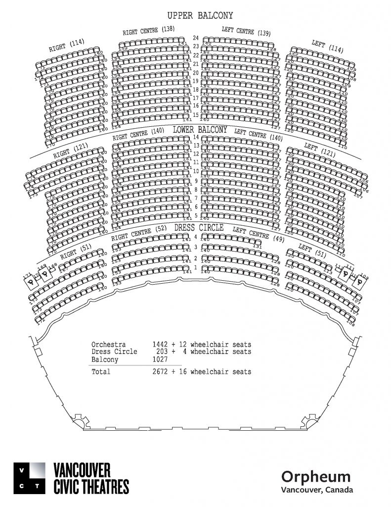 The Most Incredible And Stunning Orpheum Theater Seating Chart Seating Charts The Incredibles Theater Seating