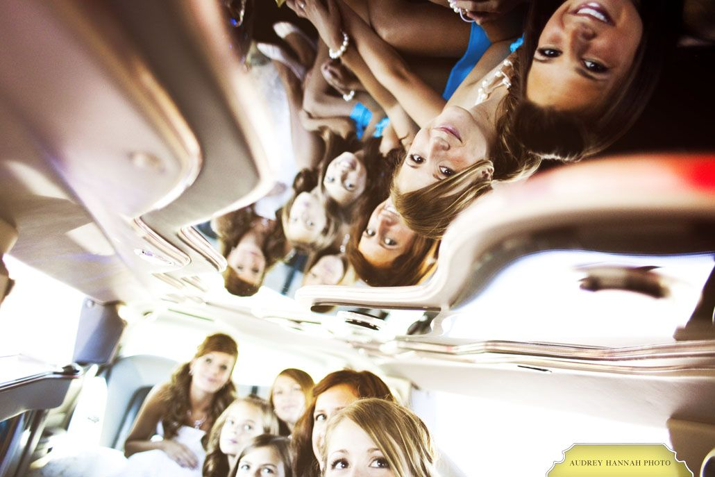 Ceiling mirror (in a limo?)