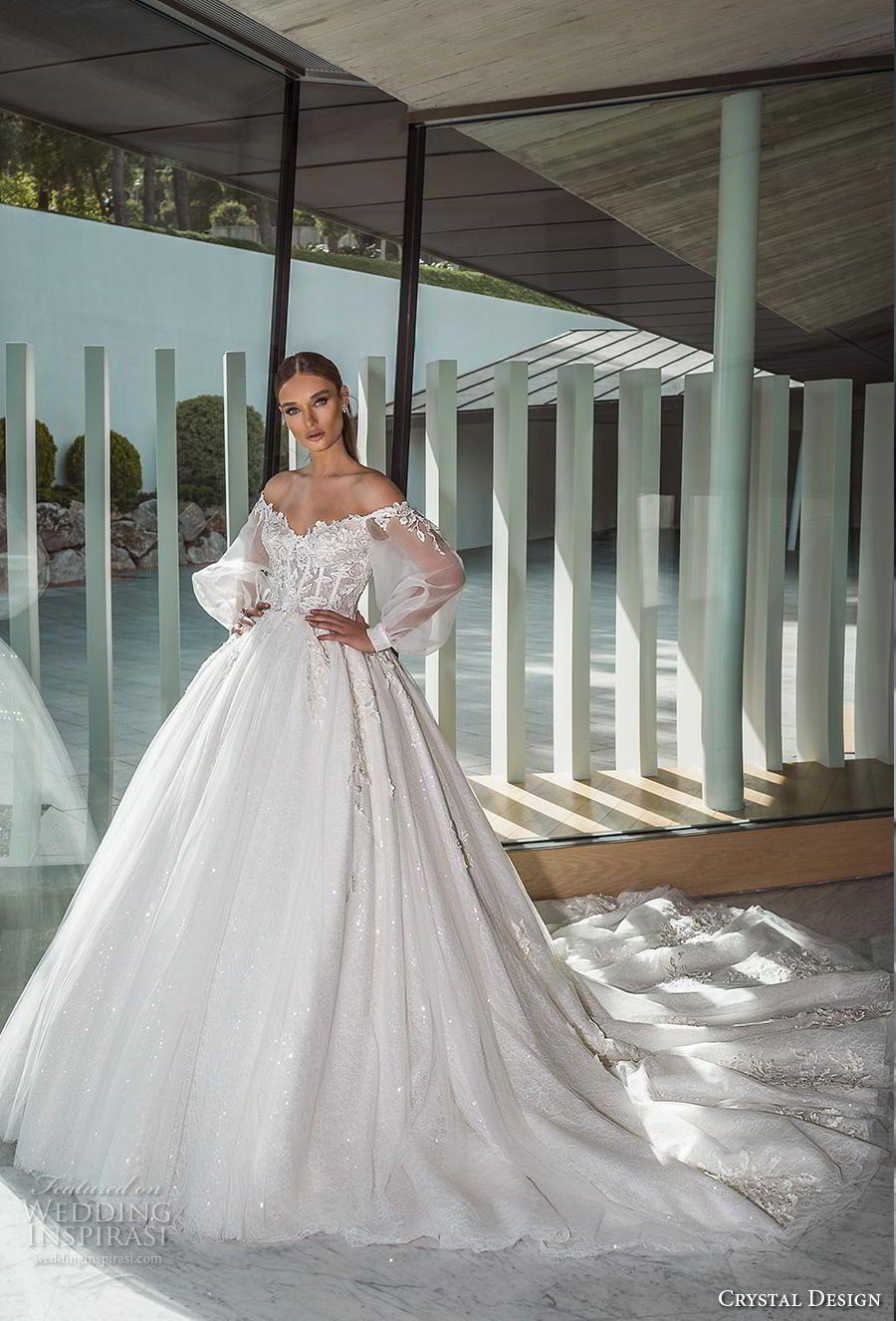 "Photo of Vestidos de novia Crystal Design 2019 – Colección nupcial ""The Icon"" | Wedding Inspirasi"