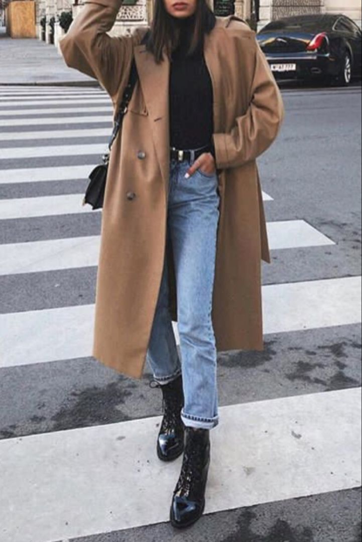 mode femme hiver tenue casual chic avec un jean des. Black Bedroom Furniture Sets. Home Design Ideas