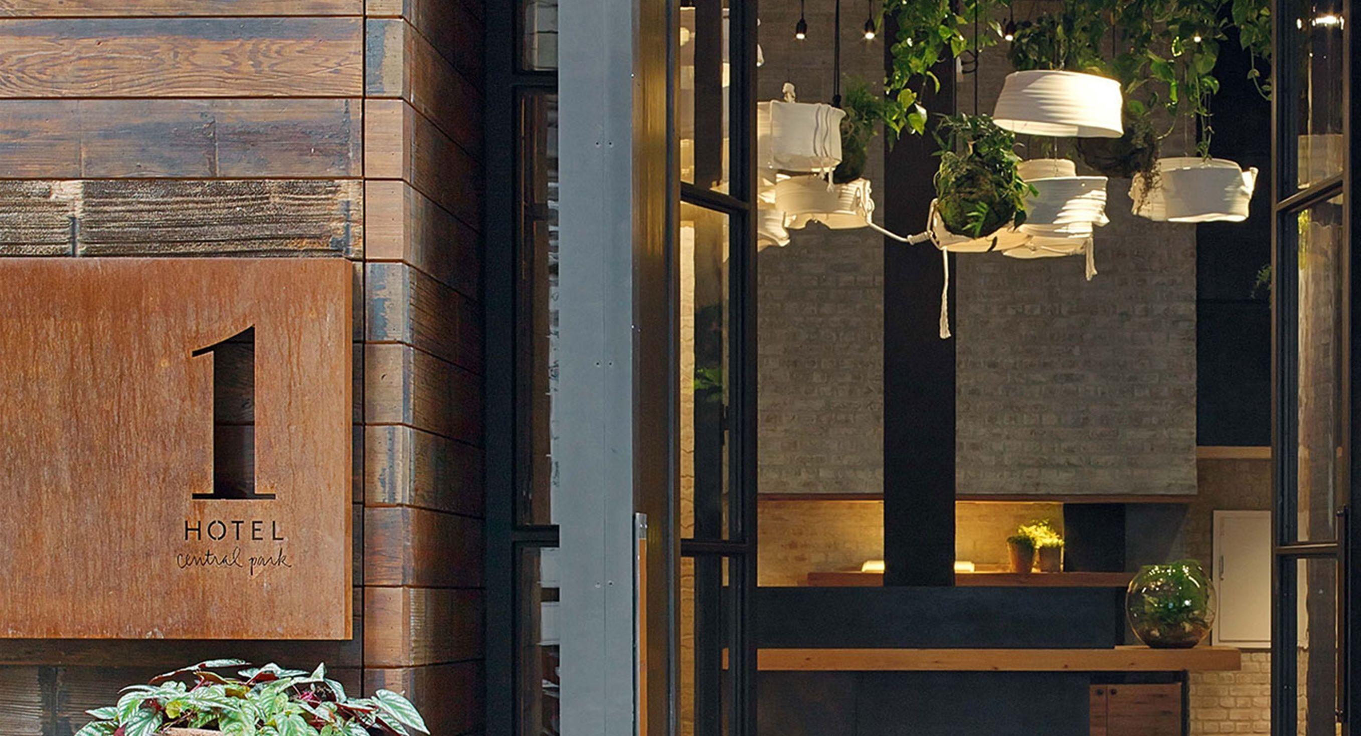 Haute Hospitality Design 1 Hotel Central Park's Lobby