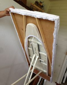 An ironing board table. It's lightweight and I can lay my work on ... : ironing table for quilting - Adamdwight.com