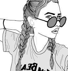 Resultado de imagen para dibujos de chicas tristes tumblr v dshtrd