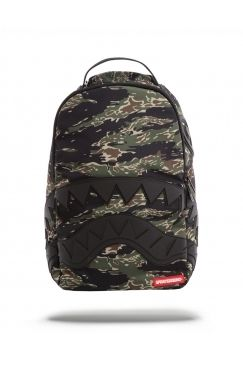 3e998bfd8 Sprayground - Camo Tiger Shark | We love this edgy backpack design from  Sprayground. Available in red and camo NOW @ Urban Celebrity!