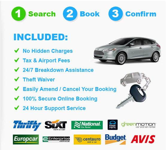 Car Rental Compare >> Compare Car Hire From The Leading Travel Providers For The