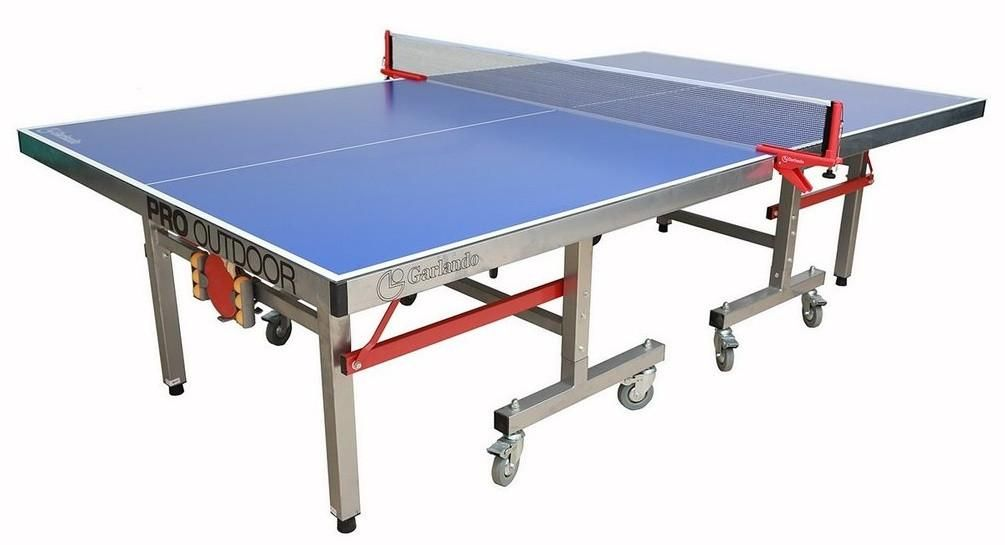 Ping Pong Table of the Week: The Garlando Pro Outdoor ...