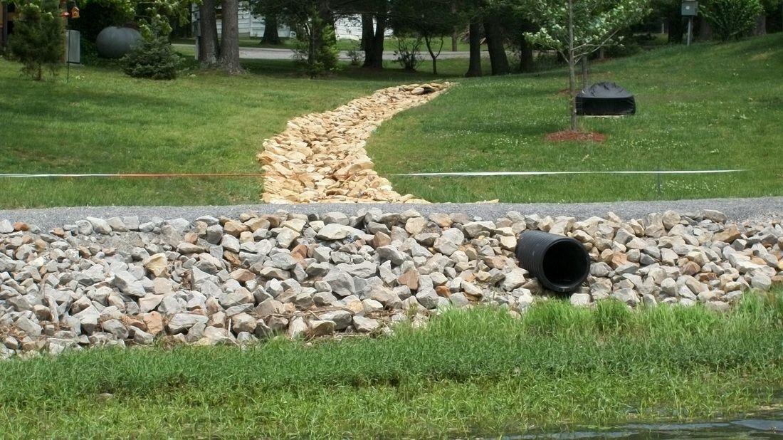 Picture Drainage solutions, Landscape