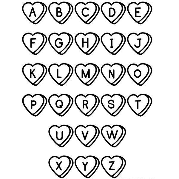 abcdefghijklmnopqrstuvwxyz Alphabet