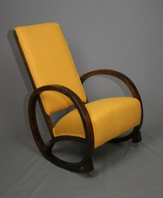 A 1930u0027s Rocking Chair With A Very Interesting And Rare Full