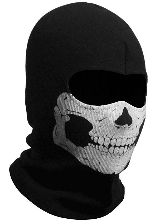 Hot Skull Ghost Balaclava Cosplay Halloween CS Baclava Full Face Mask US 96e3add96