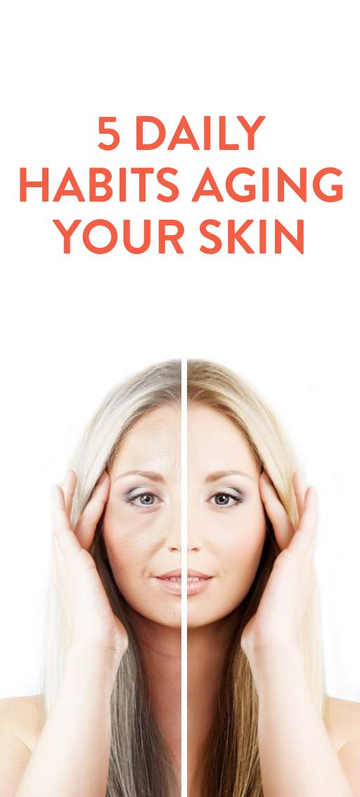 Skin Aging Early These 5 Daily Habits Could Be The Reason Skin Care Anti Aging Beauty Beauty Health